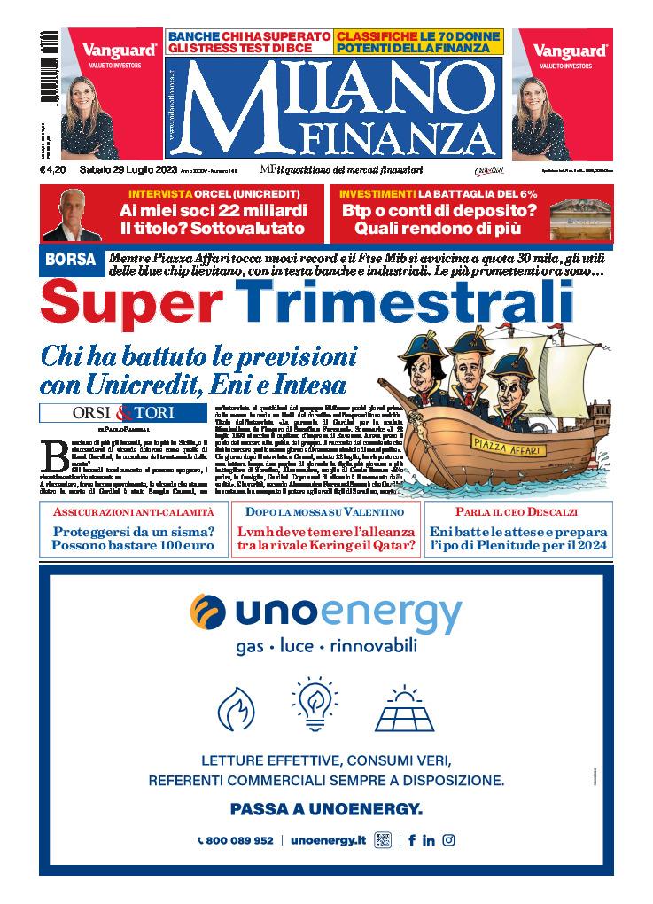copertina MilanoFinanza