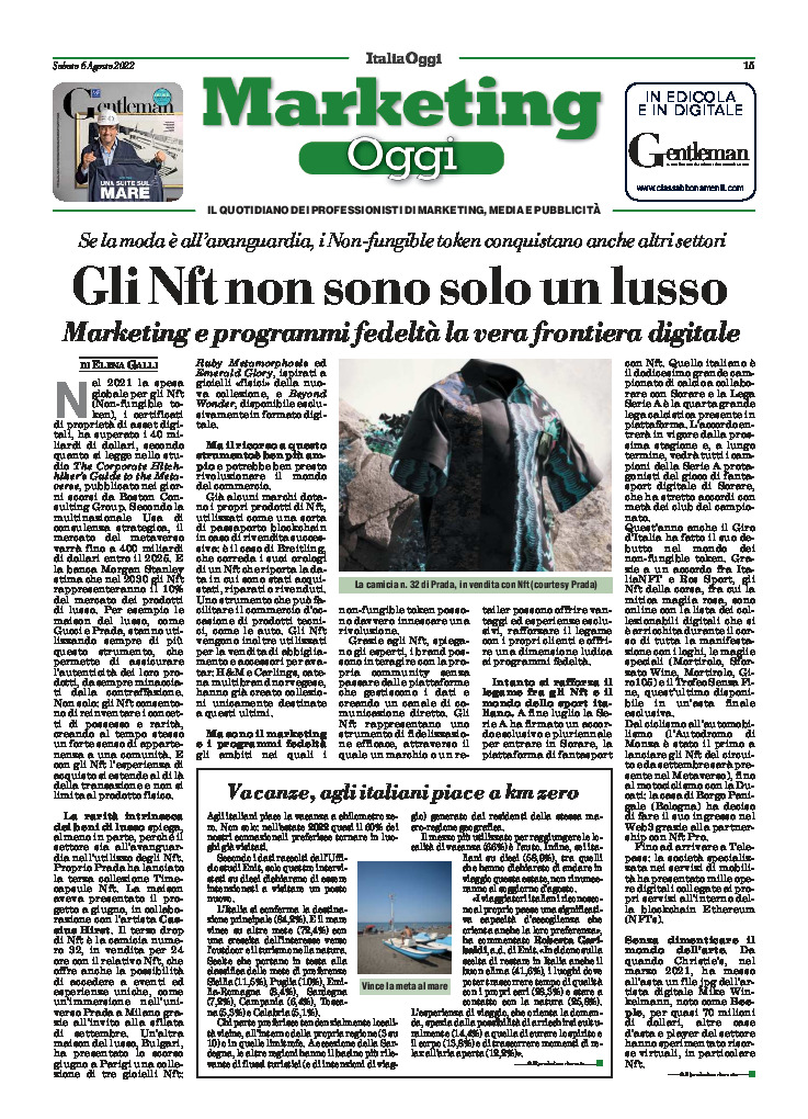 copertina Marketing Oggi